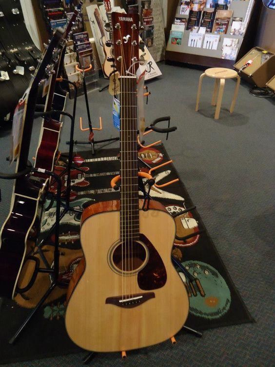 The Yamaha FG700S Acoustic Guitar