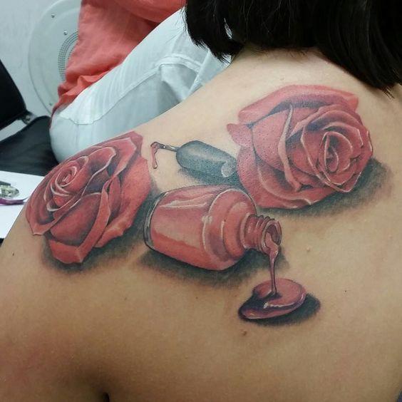 Bottle, Galleries and Bottle tattoo on Pinterest