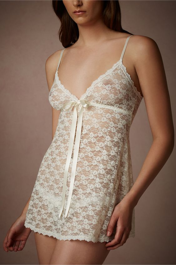 Lace Baby Doll Set from BHLDN
