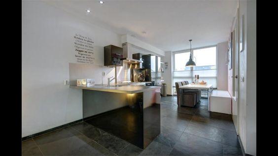 Keuken hoogglans zwart