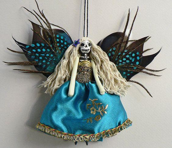 Ornamento de Navidad personalizado Made hecho a por Skullbag