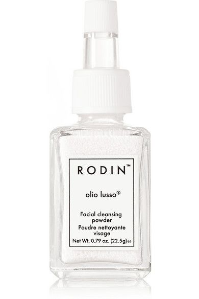 Linda Rodin created her first cleanser because she didn't want to clean the oils on her skin with an oil-based product. This formula is blended with a mix of Rice Bran, moisturizing Sea Algae and finished with olio lusso®'s signature Jasmine and Neroli scent. You can control the exfoliation based on your skin's needs by adjusting how much water you use. Shop it now at NET-A-PORTER: