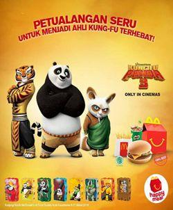 McDonalds Promo Spesial Kungfu Panda 3 http://www.perutgendut.com/read/mcdonalds-promo-spesial-kungfu-panda-3/755 #PerutGendut #Promo #McDonalds #KungfuPanda3
