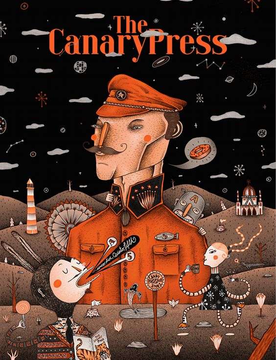 The Canary Press Issue 5 on Behance