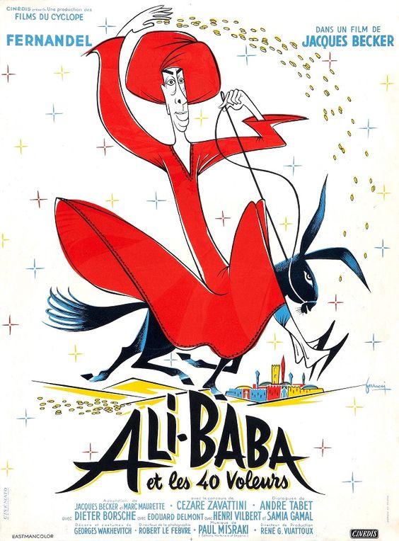 Ali Baba et les 40 voleurs, réal. Jacques Becker, 1954.
