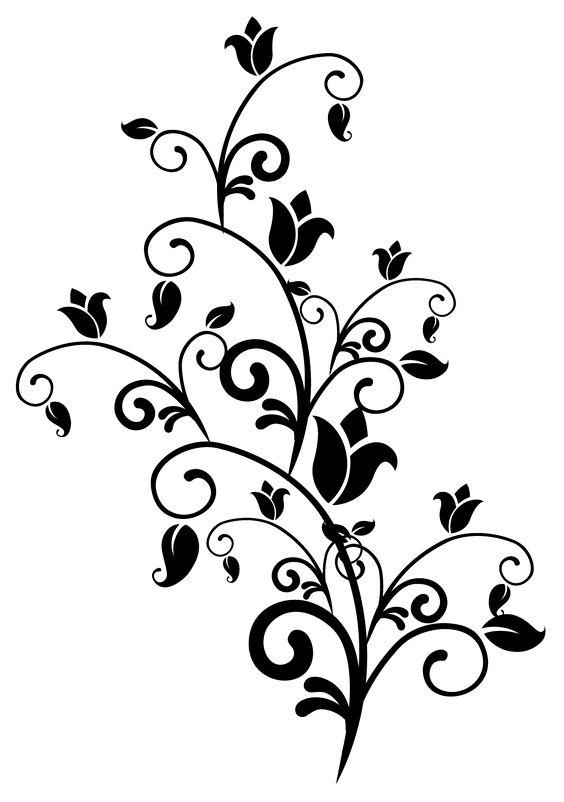 Corak Bunga Lukisan Senang Dilukis