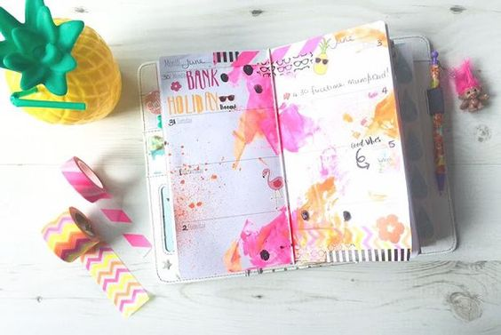 Tropical Planner Pages