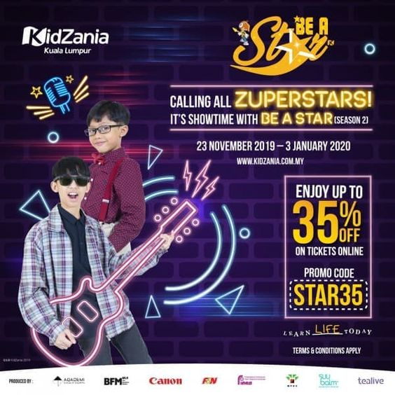 Kidzania Be a Star