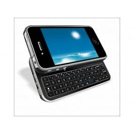 GRATIS iPhone 4(S) Bluetooth Keyboard Case (t.w.v. €34.95) - Hoesjes - iPhone 4(S) - Telefoon Accessoires