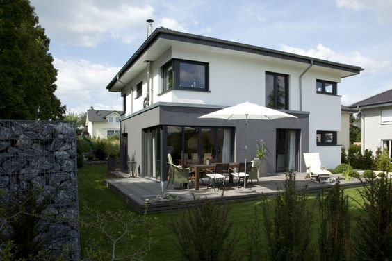 fassadengestaltung modern google suche hausfassade pinterest stadtvilla haustypen und. Black Bedroom Furniture Sets. Home Design Ideas