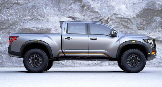 Konzeptfahrzeug Nissan Titan Warrior #nissan #nissantitan #nissantitanwarrior #titan #titanwarrior #warrior #nissanfanblog