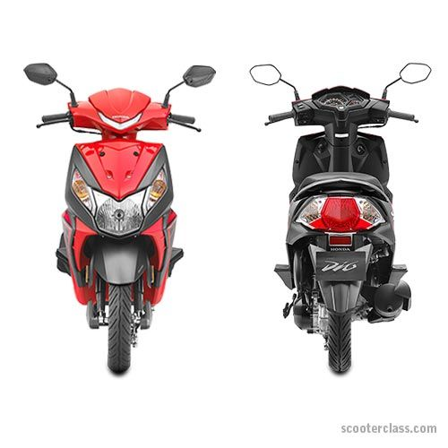 New Dio Scooty Models