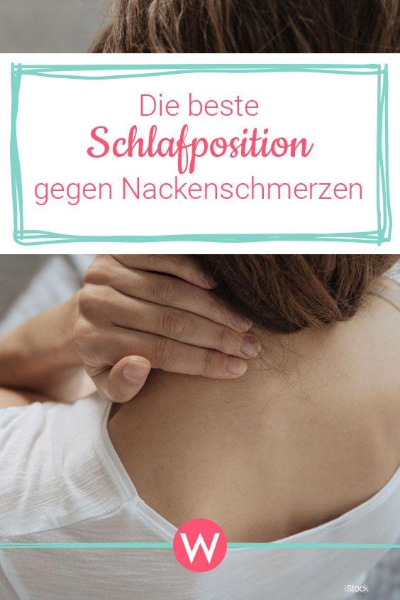 Die Beste Schlafposition Bei Nackenschmerzen So Wachst Du