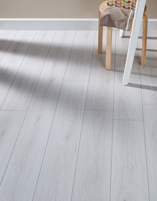 Farmhouse White Laminate Flooring