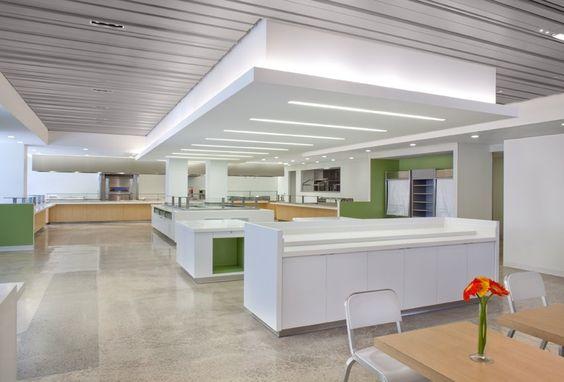 De Meza Architecture Inc - San Francisco, CA, United States. Corporate Cafeteria, Cupertino, CA.