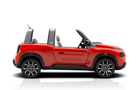 A Citroën mostrou as primeiras imagens do novo Mehari. O modelo é uma releitura do famoso carrinho de 1968, que fazia sucesso entre os jovens. A