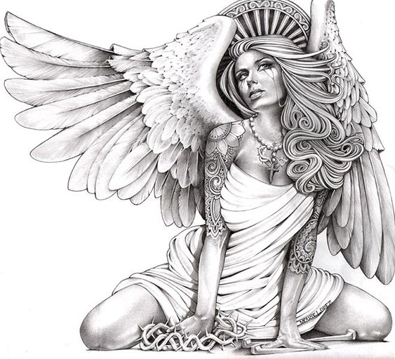 crying angel sexy chicano and angel. Black Bedroom Furniture Sets. Home Design Ideas