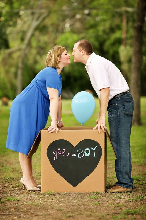 Gender Reveal Picture Must!