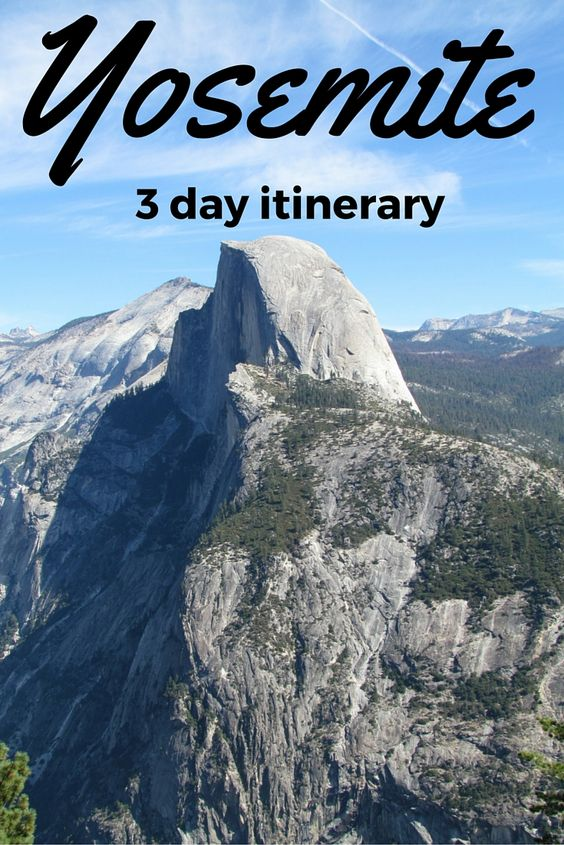 Adoration 4 Adventure's 3 day camping trip to Yosemite, California, U.S.A.
