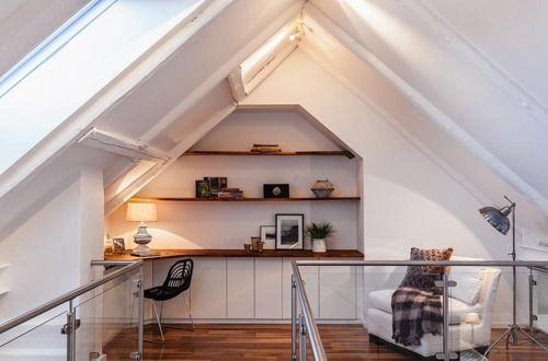 16 Astonishing Attic Nook Ideas Attic Renovation Attic Loft