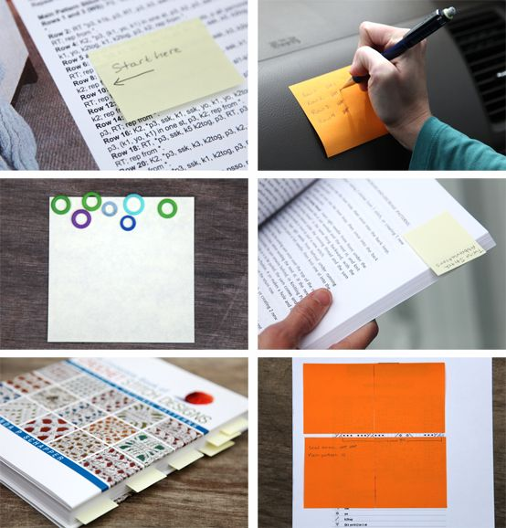 Clever ideas for stickies