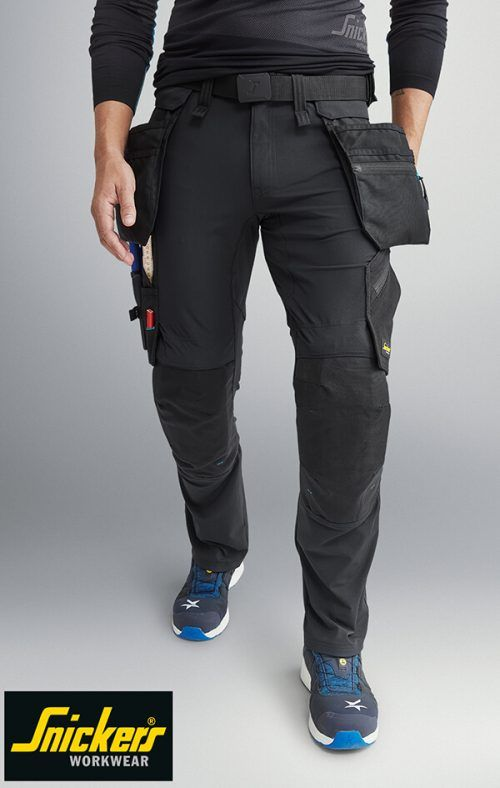 Detachable Holster Pocket Kneepad Work Trousers NEW Snickers 6208 LiteWork
