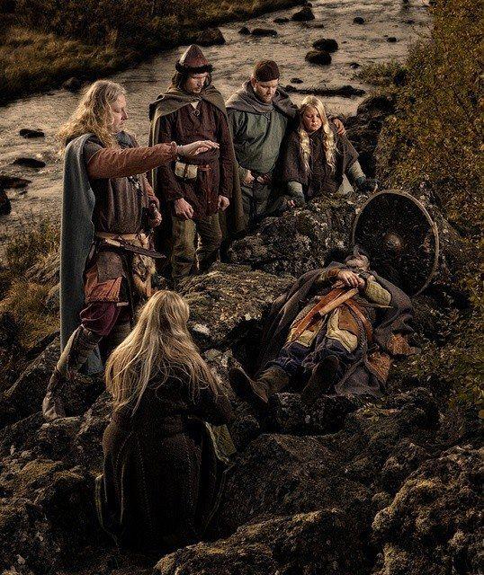 Viking death rituals