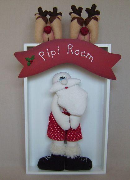 Papai Noel no Banheiro