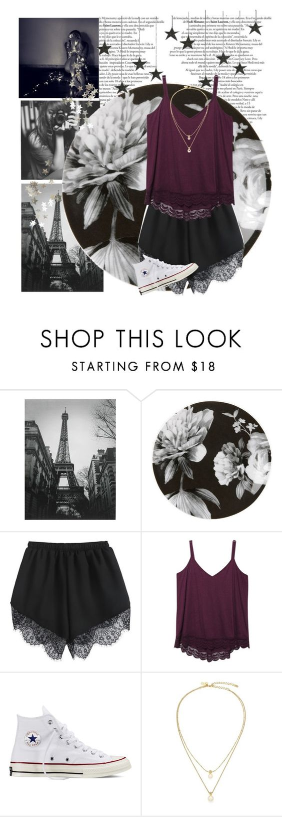 """Burgundy"" by genesis129 ❤ liked on Polyvore featuring Lenox, Wet Seal, Converse, Kate Spade, Fall, lace and burgundy"