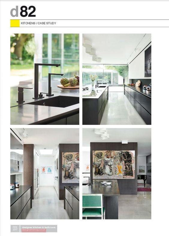 Cozinha Designer, Moderno E Elegante, Fev 2017, Cozinha Moderna, Pressione,  Deigsnspace London, Bathroom February, Kitchen Bathroom