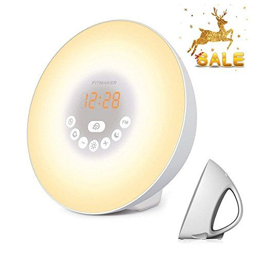 Sunrise Alarm Clock Wake Up Light With 6 Nature Sounds Https Www Amazon Com Dp B07ffw8gpx Ref Cm Sw R Pi Sunrise Alarm Clock Alarm Clock Nature Sounds