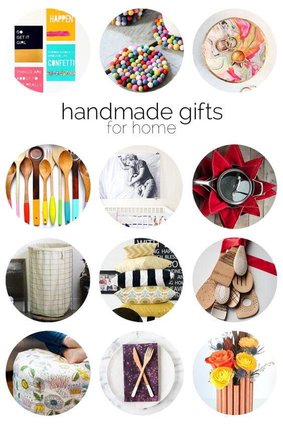 12 Handmade Gift Ideas for Home