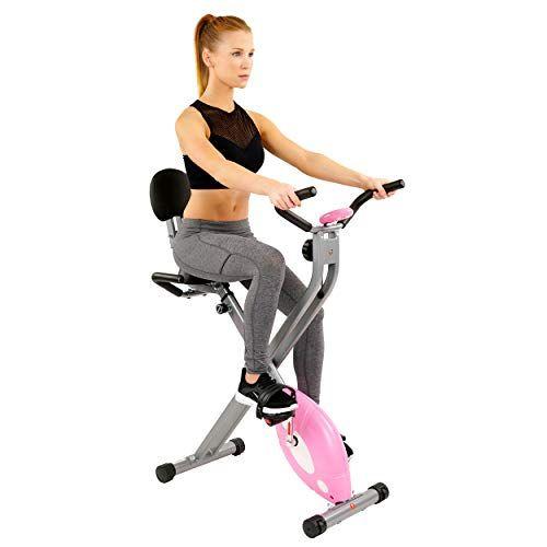 Sunny Health Fitness Magnetic Folding Recumbent Bike Exercise Bike 220lb Capacity Sf Rb1117 Fun Workouts Bike Health Fitness Cat