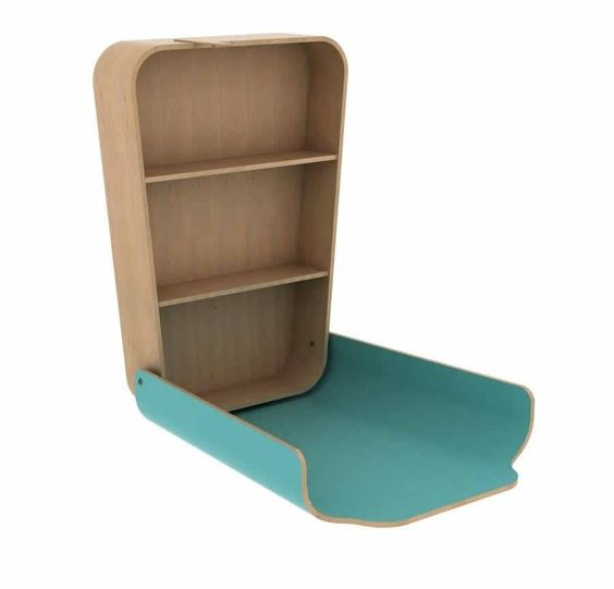 charlie crane noga changing table aruba blue