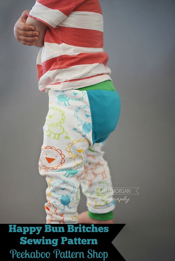 Happy Buns Britches | Peek-a-Boo Pattern Shop