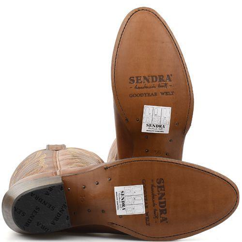 Sendra 11627 Salvaje Cuoio westernlaarzen cognac in 2020