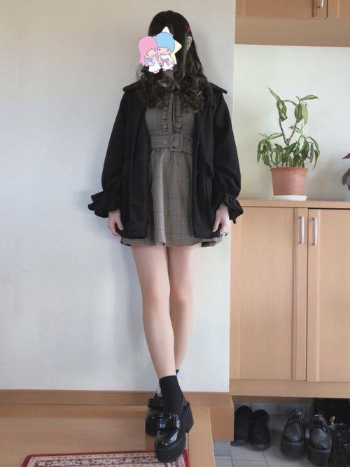 み bubblesのワンピースを使ったコーディネート wear ファッション ワンピース ファッションコーディネート