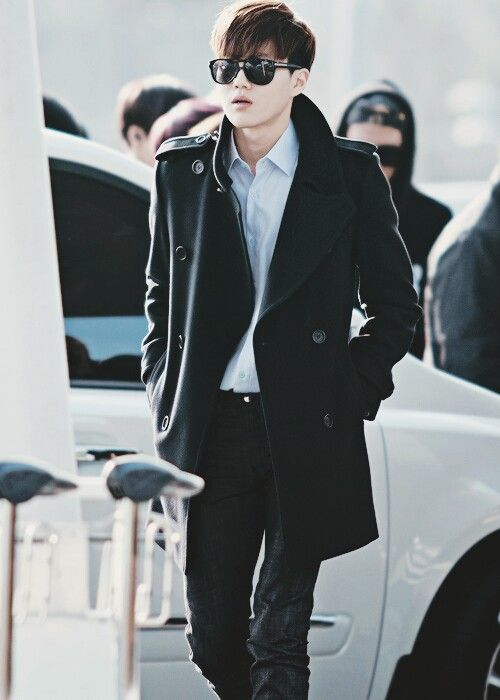 EXO Suho #airport #airportfashion | EXO: Airport Fashion ...