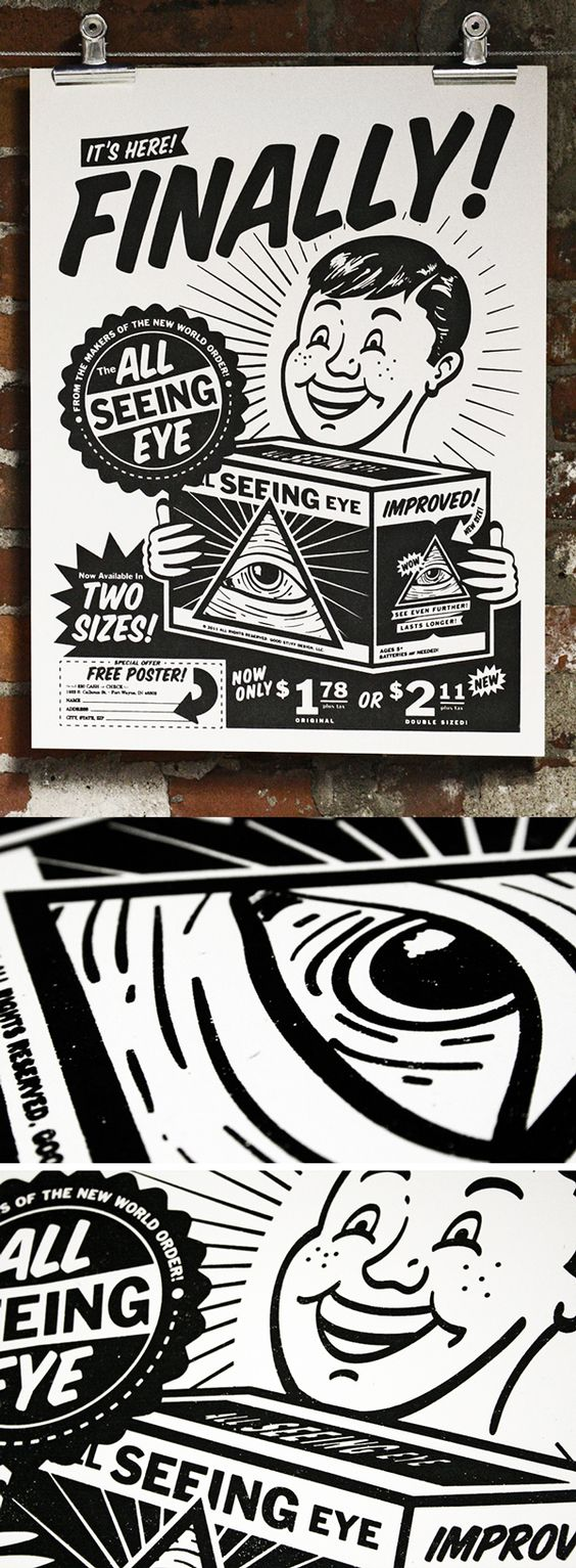All Seeing Eye Poster on Behance