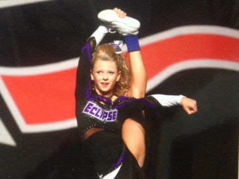 """Hard work and determination have gotten Molly into the 2015 NCA Cheer Summit, aka """"The World Series of Cheerleading.""""  Now, with the help of her giving circles, she's raising money to pay for her trip to the competition!"""