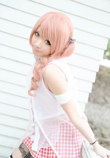 Final fantasy Serah cosplay.: