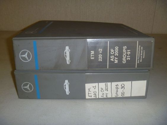 2000 2001 Mercedes Benz S430 S500 S600 S55 Amg Electrical Wiring Diagram Manual Stuff To Buy Parts And Accessories Decorative Boxes