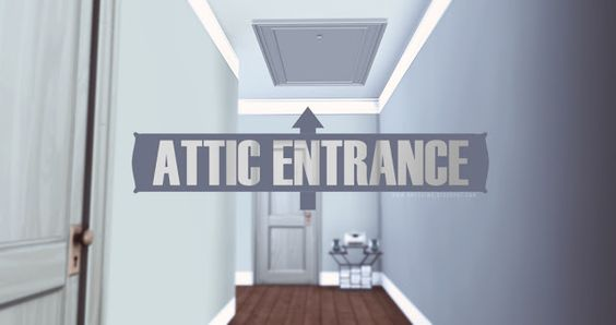 Sims 4 CC's - The Best: Attic Entrance by OnyxSims
