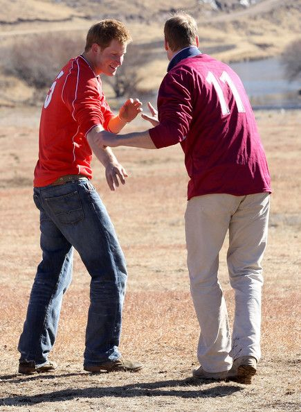 Prince Harry Photos - Prince William And Harry Visit Lesotho - Day 2 - Zimbio