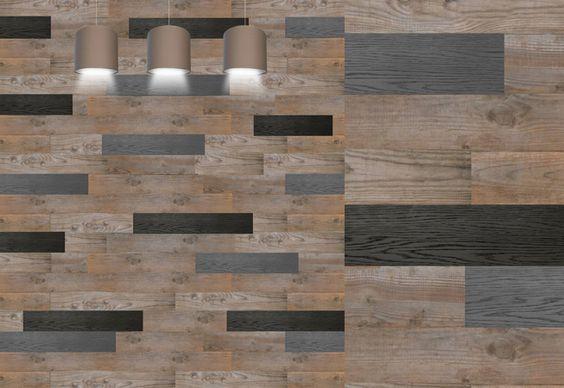 Mur créé pour la décoration d'un restaurant sur Annemasse, entièrement réalisé en  planches de palox, by récup'LULU, réalisé à Cavaillon, France