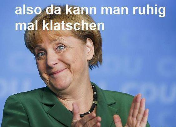 Vielen Dank, Angela Merkel, dass Du...