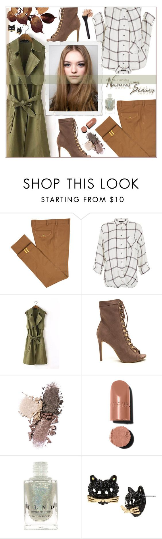 """Fall Streetstyle"" by daizydarling ❤ liked on Polyvore featuring Diverso, New Look, Chanel and Betsey Johnson"