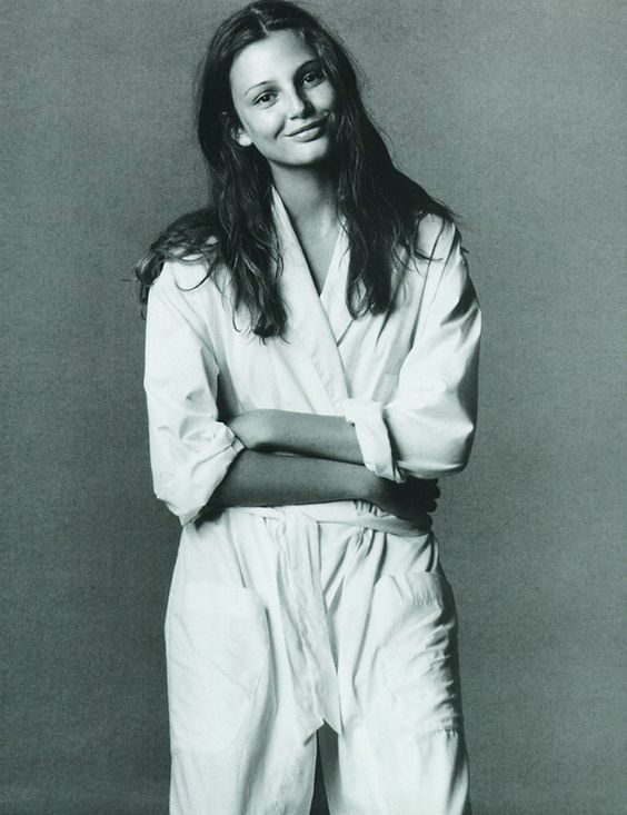 Bridget Hall  Ph-Steven Meisel  Fashion Editor -Joe McKenna Vogue Italia