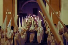 Holy Week Processions, people process all night often barefoot. It is worth visiting Seville at that time.