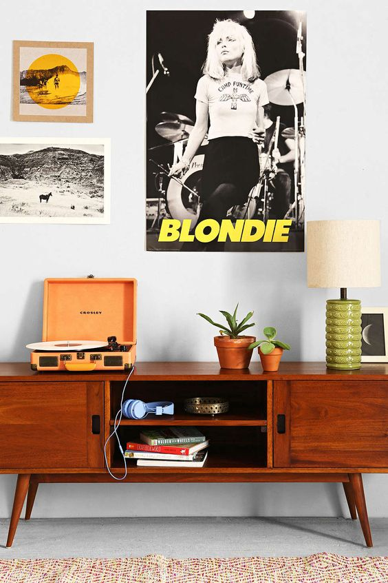 Blondie Camp Fun Time Poster - Urban Outfitters